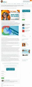 Internet Marketing Blog Post by Steve Calvert