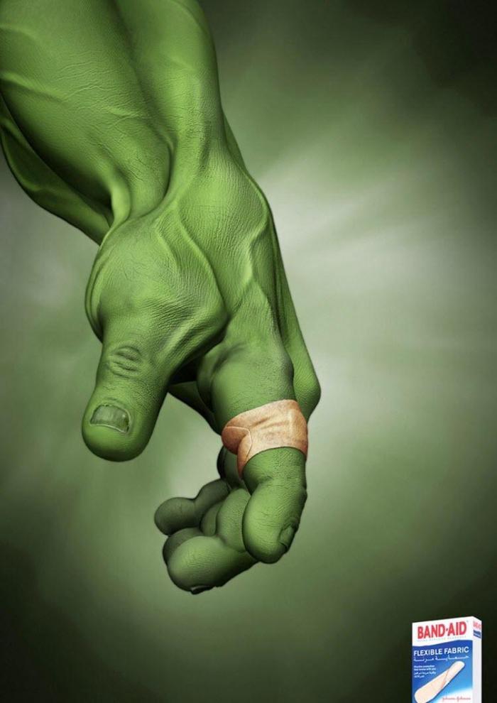 Рекламный ролик Creative Hulk