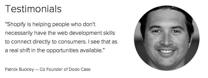 Customer pain points social validation customer testimonial