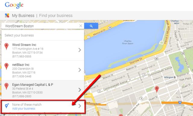 google minha ajuda comercial