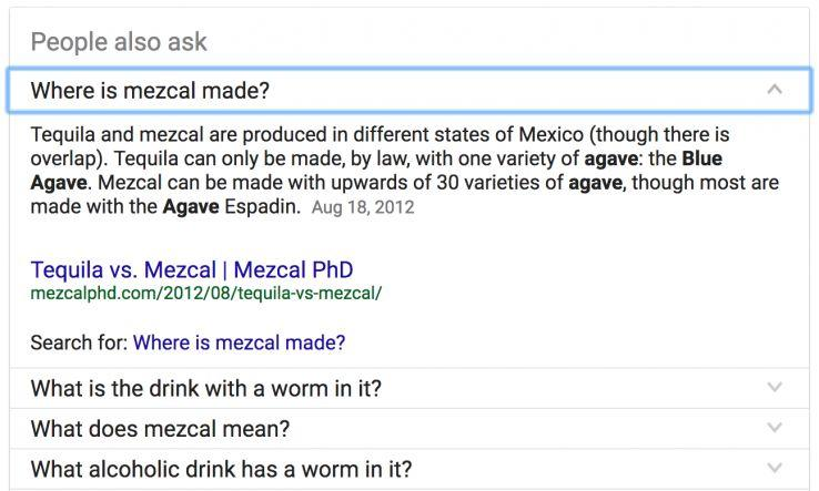 How to Get on The First Page of Google People Also Ask