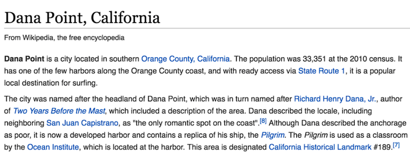effective local marketing ideas add relevant local information to wikipedia