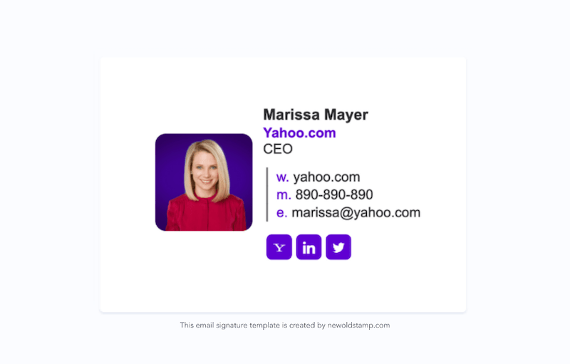 email signature marketing trends for 2021 example 11