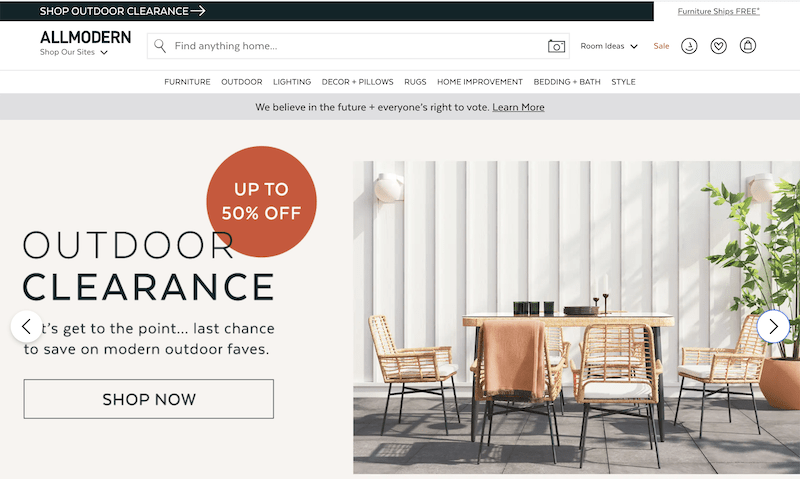 free november marketing ideas outdoor clearance sale