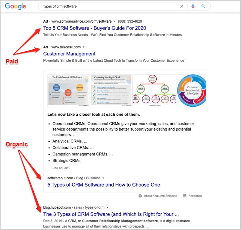 organik trafiğe karşı ödenen google sıralama faktörleri