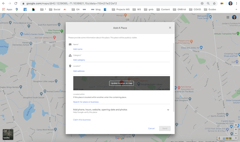 how to rank higher on google maps adding your place to google maps