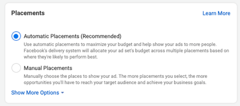 How much do Instagram ads cost ad placements