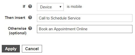 Microsoft IF function with device option