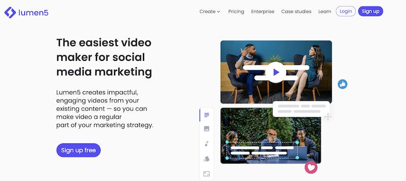remote at home diy videos for marketing lumen5