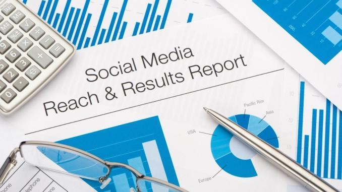 Social media advertising report
