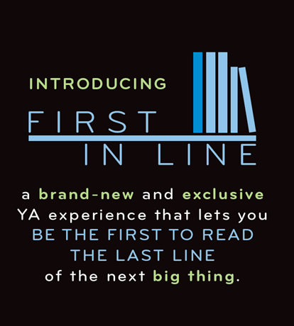 First in Line | New Program by Random House & Giveaway (1/2)