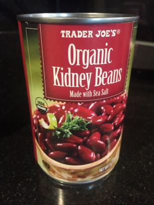 Canned low sodium kidney beans
