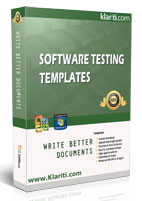 software qa testing templates