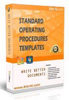 standard operating procedure templates