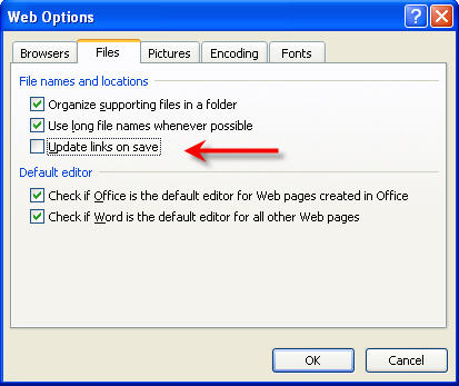 How to create Absolute and Relative Hyperlinks in Word 2007 & 2003 documents 3