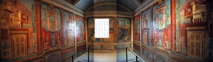 Met Highlights 05-1 Roman Cubiculum (bedroom) from the Villa of P. Fannius Synistor at Boscoreale