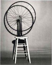 Bicycle wheel by Marcel Duchamp (1913)