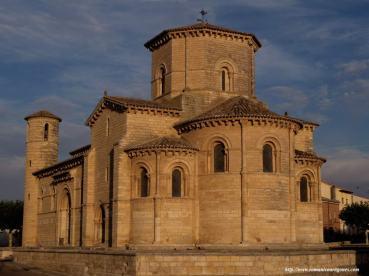 Romanic Church of San Martín de Frómista (Palencia - Spain) (12th century)