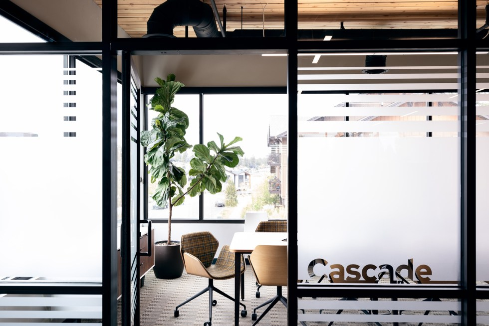 cascade room entrance
