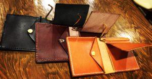 俺の財布、ハンドメイド、手作り、革