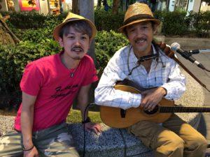 台湾、公園、ギター