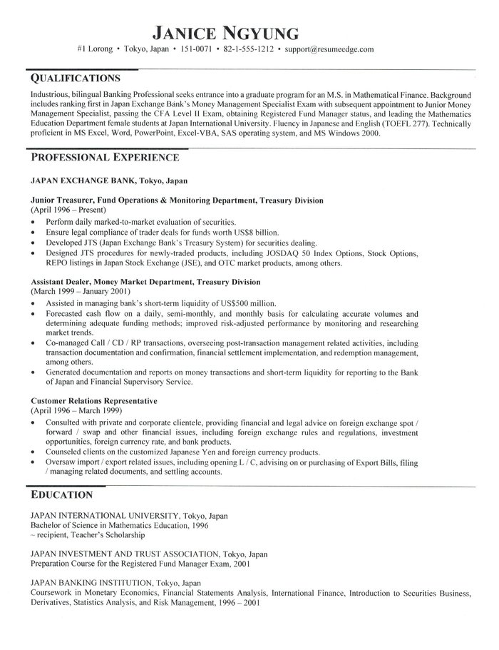 Top 20 Graduate School Resume Objective Examples you can Use | Best Resume Objective Examples