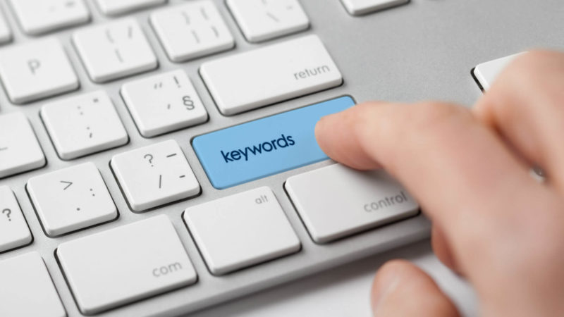 how to find the right keywords to use in your resume