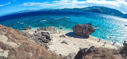 Top view of Capones Island, Zambales