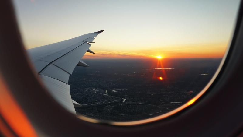 Window Seat of Plane