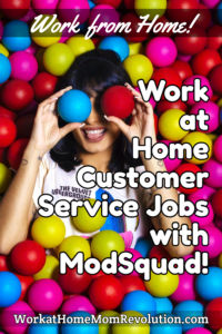 work at home customer support jobs ModSquad