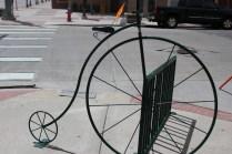 This is how Cheyenne does bike racks. :)