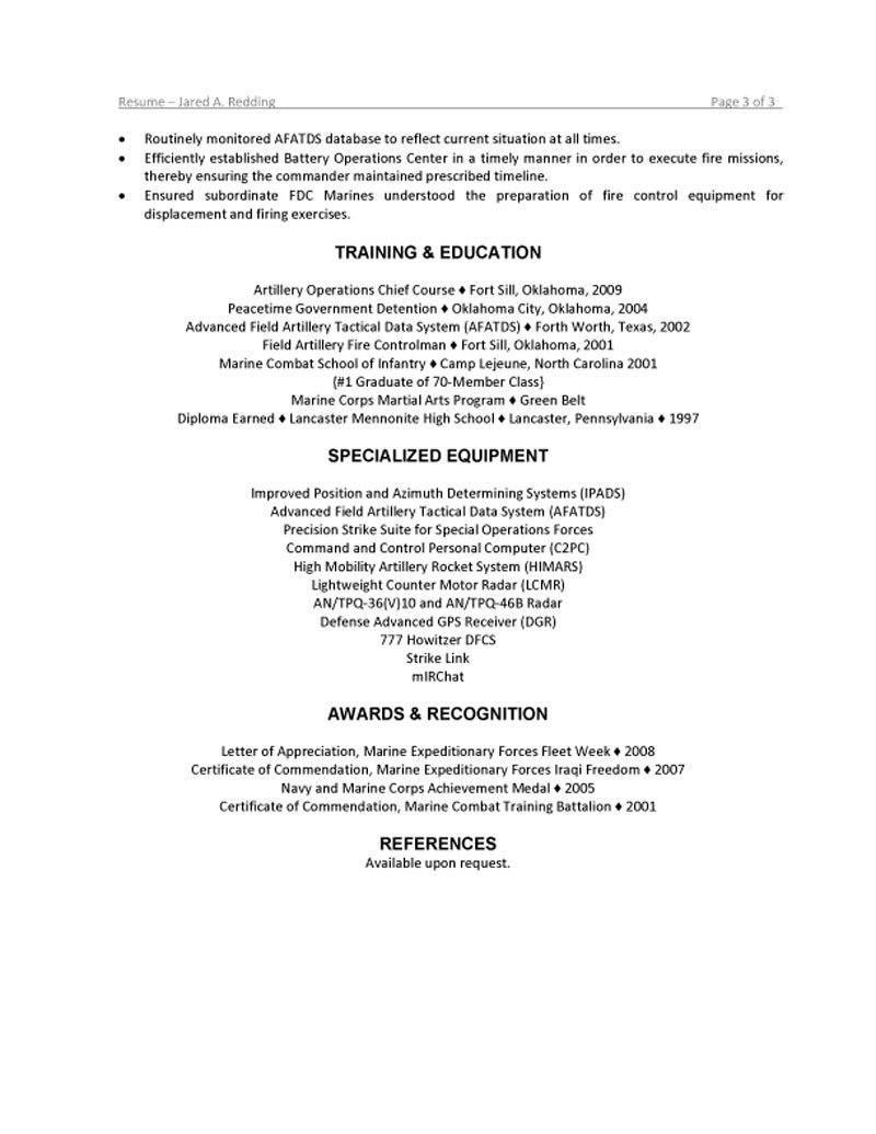 New Grad Resume Examples