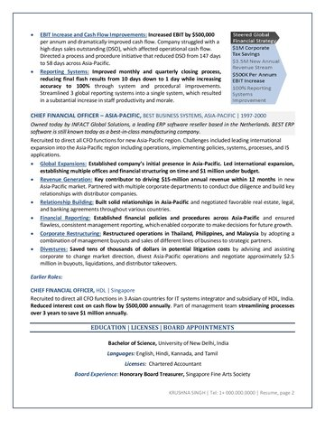 Tradesman resume samples with headline, objective statement, description and skills examples. Sample Resume Cfo