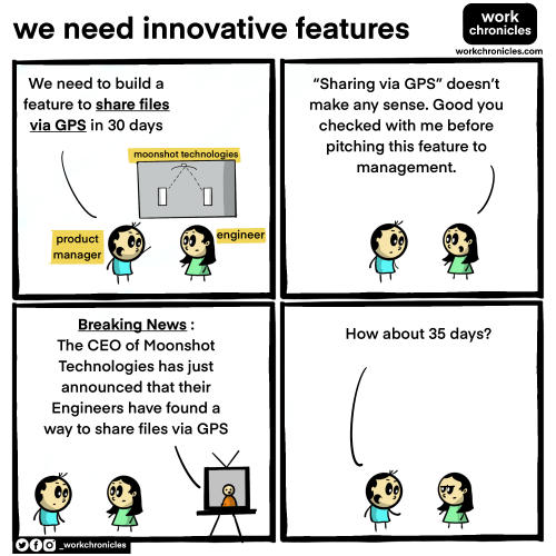 Comic on Innovative Features