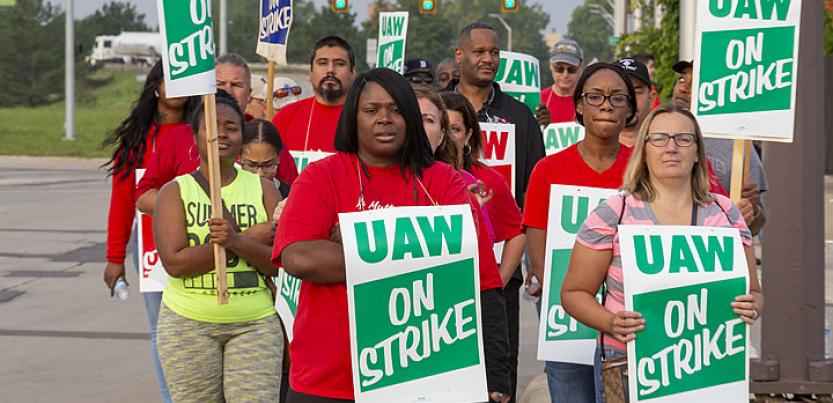 Auto Worker Strike