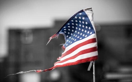 Damaged Flag