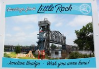 Little Rock Live Postcard