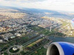 Aerial view of D.C.