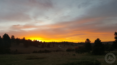 custer sunrise