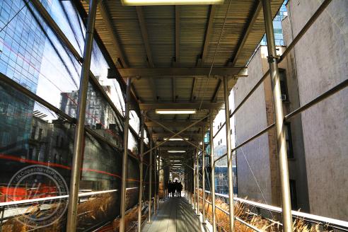 High Line walkway