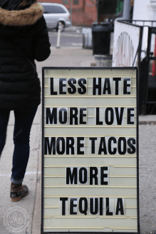 NYC tacos and tequila