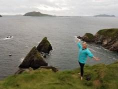 The coast of Ireland