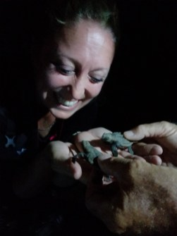 What a wonderful and unexpected discovery in Australia …sea turtle hatchlings! I love unexpected happiness along the journey.
