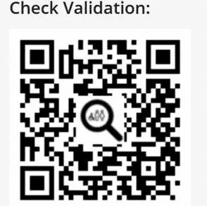 online police check validation