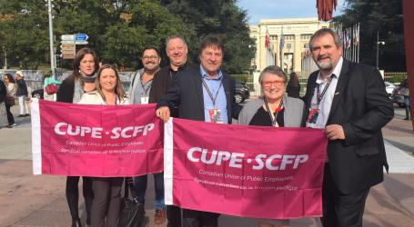 People Over Profit – CUPE at Public Service International (PSI) 30th World Congress