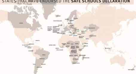 71st country to endorse the Safe Schools Declaration