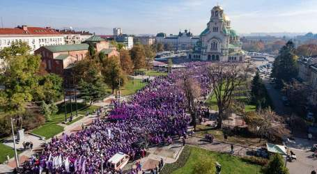 Thousands protest to demand better wages in Bulgaria