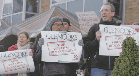 IndustriALL takes fight to Glencore in London