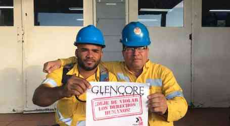 Unions take action against Glencore ahead of investor call