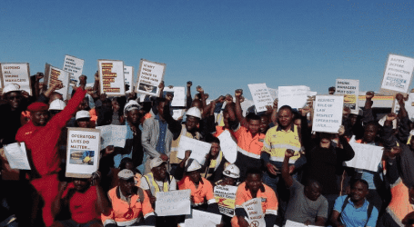 Namibia: Union protest sloppy safety standards at Skorpion Zinc mine